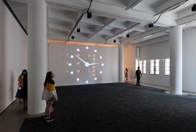 Exhibition view: Philippe Parreno, Synchronicity, Rockbund Art Museum, Shanghai (8 July–17 September 2017).