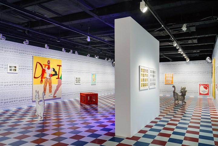 Exhibition view: Tschabalala Self, Bodega Run, Yuz Museum, Shanghai (22 September–9 December 2018). Courtesy Yuz Museum, Shanghai.