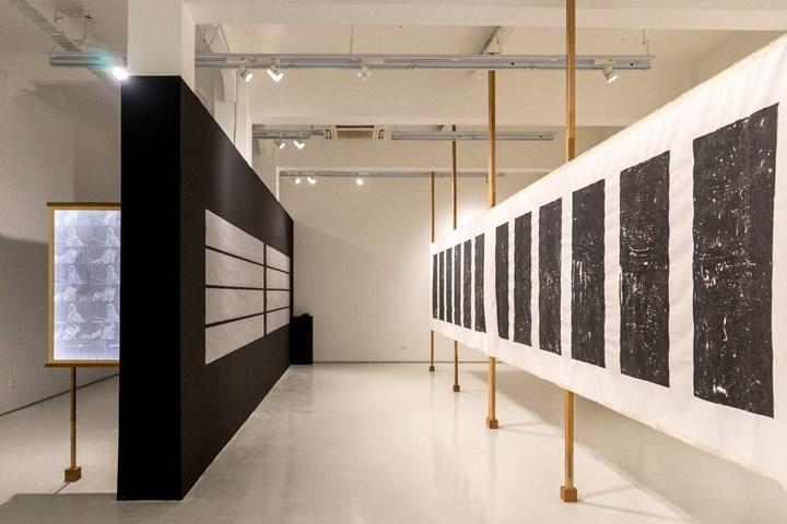Exhibition view: Boedi Widjaja, Rivers and lakes Tanah dan air, ShanghART Gallery, Singapore (7 December 2018–17 February 2019). Courtesy ShanghART Gallery.
