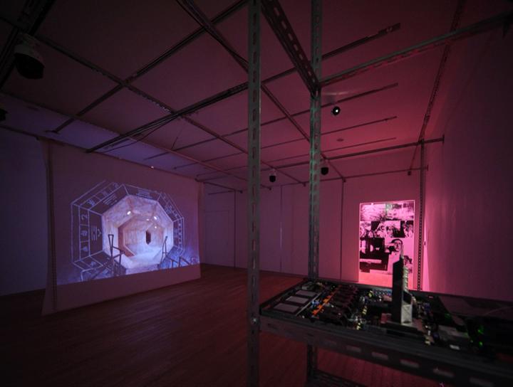 Yuri Pattison, False Memory (2019). Video installation. Exhibition view: Phantom Plane, Cyberpunk in the Year of the Future, Tai Kwun Contemporary, Hong Kong (5 October 2019–4 January 2020). Courtesy the artist and Tai Kwun Contemporary.