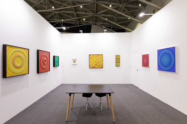 Works by Minoru Onoda on view at Anne Mosseri-Marlio Galerie, Solos sector, Taipei Dangdai (18–20 January 2019). Courtesy Taipei Dangdai.