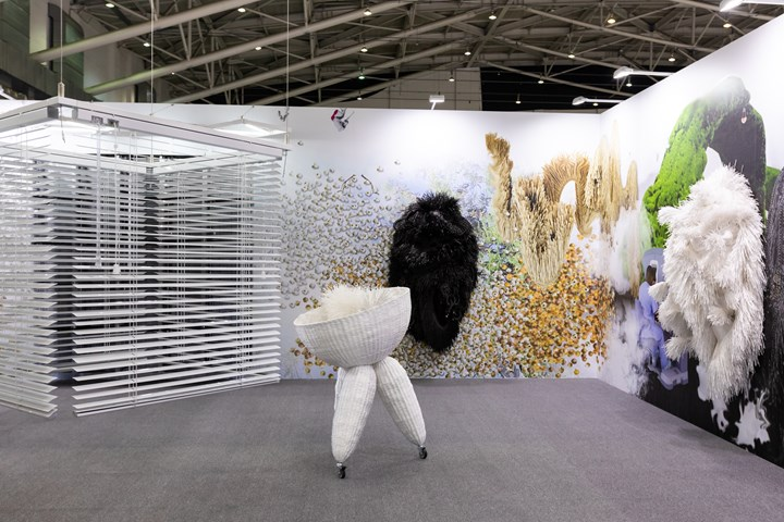 Solo presentation of Haegue Yang at Kukje Gallery, Taipei Dangdai (18–20 January 2019). Courtesy Taipei Dangdai.