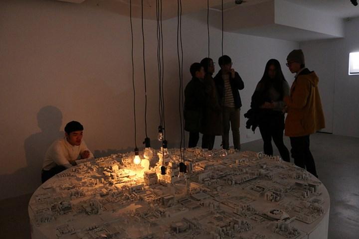 Exhibition view: iGod—Huang Zan-Lun Solo Exhibition, VT Artsalon, Taipei (5 January–2 March 2019). Courtesy VT Artsalon.