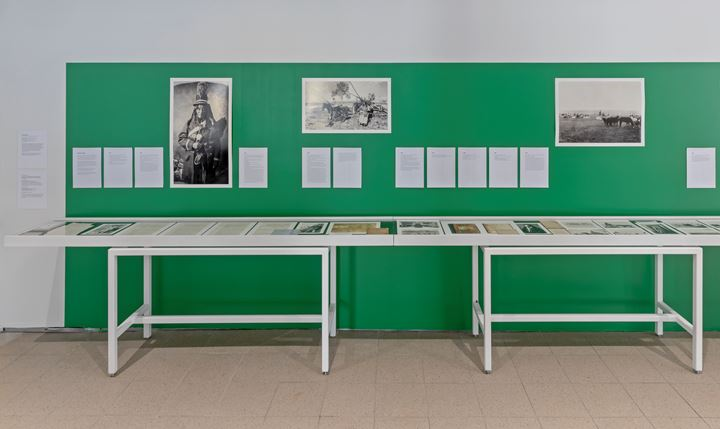 AA Bronson, A Public Apology to Siksika Nation (2019). Multi-media project with publication, installation, and performative components in several stages. Commissioned by the Toronto Biennial of Art. Exhibition view: The Shoreline Dilemma, Toronto Biennial of Art, 259 Lake Shore Boulevard East, Toronto (21 September–1 December 2019). Courtesy Toronto Biennial of Art. Photo: Toni Hafkenscheid.
