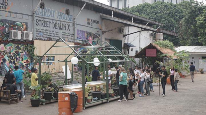 OK.Pangan, Gudang Sarinah Ekosistem (2017). Courtesy ruangrupa. Photo: OK.Video – ruangrupa.