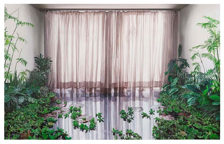 Ana Elisa Egreja, Poça II / Sala de jantar (Puddle II / Dining room) from the series 'Jacarezinho 92' (2017). Courtesy the artist and Sesc_Videobrasil.