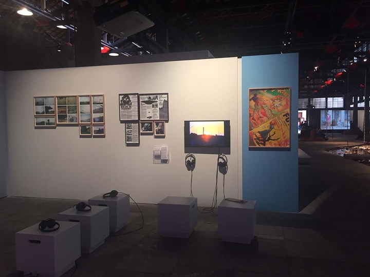 Mabe Bethônico, Histórias Minerais Extraordinárias (2016). Exhibition view: 20th Contemporary Art Festival Sesc_Videobrasil, Sesc Pompéia, São Paulo (3 October 2017–14 January 2018). Photo: Camila Belchior.