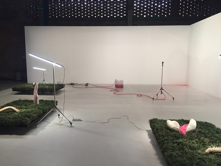 Pakui Hardware, Lost Heritage (2015). Exhibition view: 20th Contemporary Art Festival Sesc_Videobrasil, Sesc Pompéia, São Paulo (3 October 2017–14 January 2018). Photo: Camila Belchior.