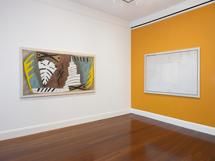 Exhibition view: Visions of Brazil: Reimagining Modernity from Tarsila to Sonia, Blum & Poe, New York (30 April–22 June 2019). Courtesy the artists or Estates and Blum & Poe, Los Angeles/New York/Tokyo. Photo: Genevieve Hanson.