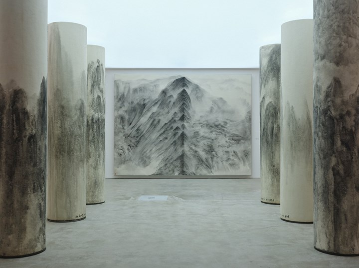 Exhibition view: Works by Xu Longsen on view at Hanart TZ Gallery, West Bund Art & Design (8–11 November 2018). Courtesy Ocula in collaboration with West Bund Art & Design. Photo: Xing Zhenzhong 邢振中.