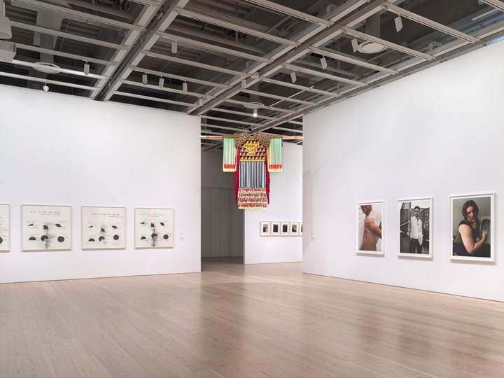 Exhibition view: Whitney Biennial 2019, Whitney Museum of American Art, New York (17 May–22 September 2019). Courtesy Museum of American Art. Photo: Ron Amstutz.
