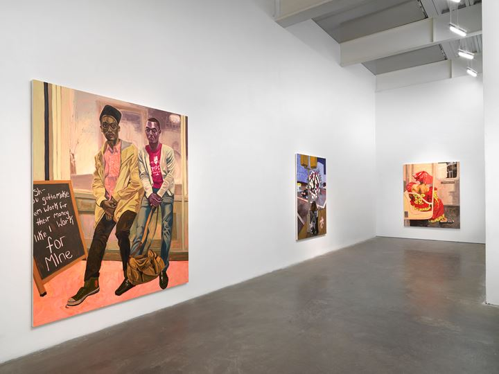 Exhibition view: Jordan Casteel, Within Reach, New Museum, New York (19 February–24 May 2020). Courtesy New Museum.