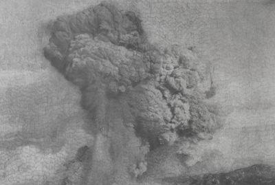 Thu Van Tran, Trail Dust (2021). Graphite on Canson paper. 100 x 150 cm. © Thu Van Tran.