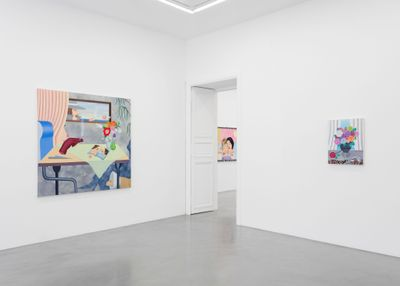 Exhibition view: GaHee Park, Too Early After All, Perrotin, Paris (4–30 September 2021). ©