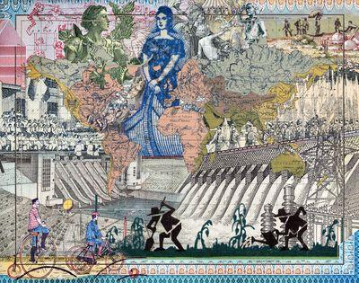 Malala Andrialavidrazana, Figures 1852, River Systems of the World (2018). © Malala Andrialavidrazana.