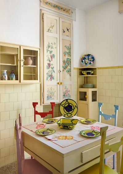 Casa Balla, Via Oslavia, Rome. Kitchen. © Giacomo Balla, by SIAE 2021.