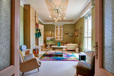Casa Balla, Via Oslavia, Rome. Luce's room (detail). © Giacomo Balla, by SIAE 2021.