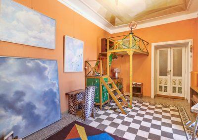 Casa Balla, Via Oslavia, Rome. Elica's room (detail). © Giacomo Balla, by SIAE 2021.