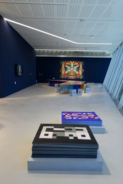 Exhibition view: Casa Balla: From the house to the universe and back, MAXXI - National Museum of XXI Century Arts, Rome (17 June–21 November 2021).