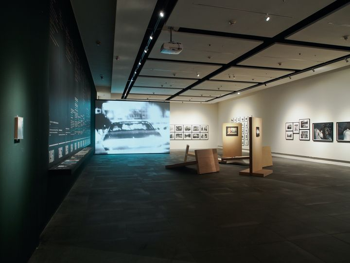 Installation image view of the exhibition 'PROVOKE – Opposing Centrism' at Kuandu Museum of Fine Arts, Taipei (12 March–27 June 2021)