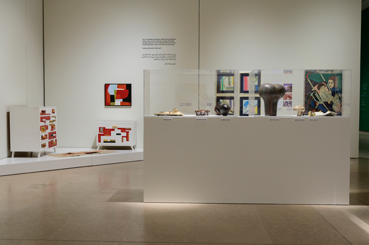 Exhibition view: At the still point of the turning world, there is the dance, 8th edition of Home Works: A Forum on Cultural Practices, Sursock Museum, Beirut (17 October 2019–19 January 2020). Curated by Carla Chammas. Courtesy Ashkal Alwan.