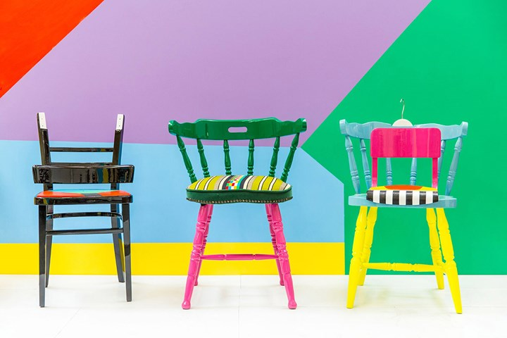 Yinka Ilori, If Chairs Could Talk (2015). Courtesy the artist. Photo: Veerle Evens.