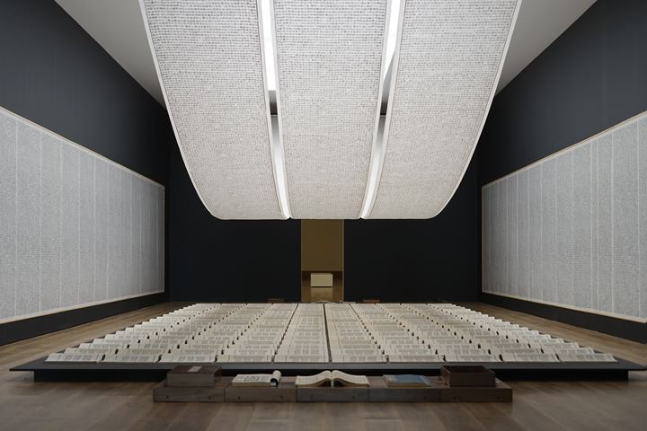 Exhibition view: Xu Bing, Thought and Method, Museum MACAN, Jakarta (31 August 2019–12 January 2020). Courtesy Museum MACAN.