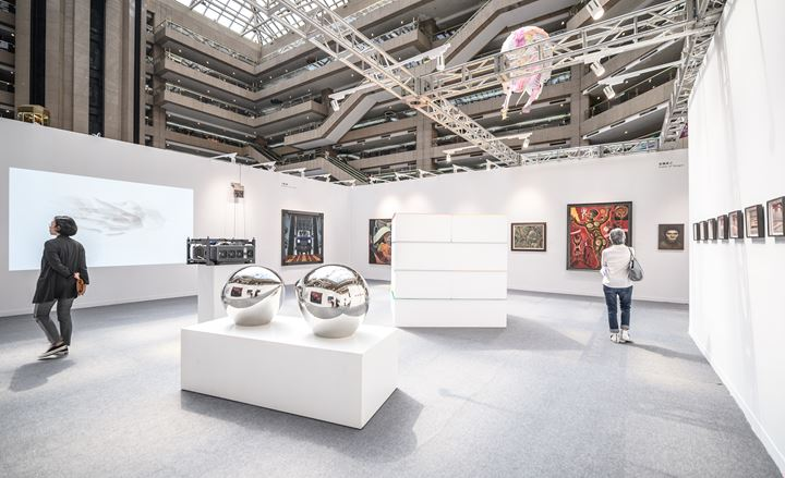 Exhibition view: Art Revives beyond Discipline: Post Martial Law and the Development of Taiwanese Contemporary Art, Art Taipei, Taipei (18–21 October 2019). Courtesy Art Taipei.