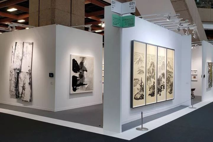 Exhibition view: Ink Studio, Art Taipei, Taipei (18–21 October 2019). Courtesy Ink Studio.