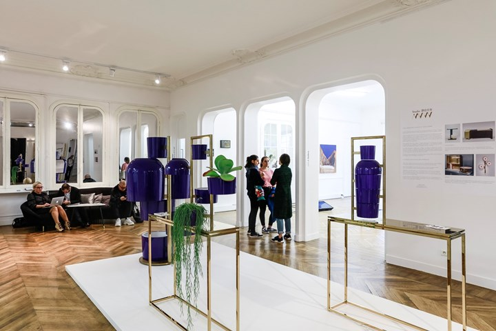 Exhibition view: BlooMing at ASIA NOW, Paris (18–22 October 2017). Courtesy Ocula. Photo: Charles Roussel.