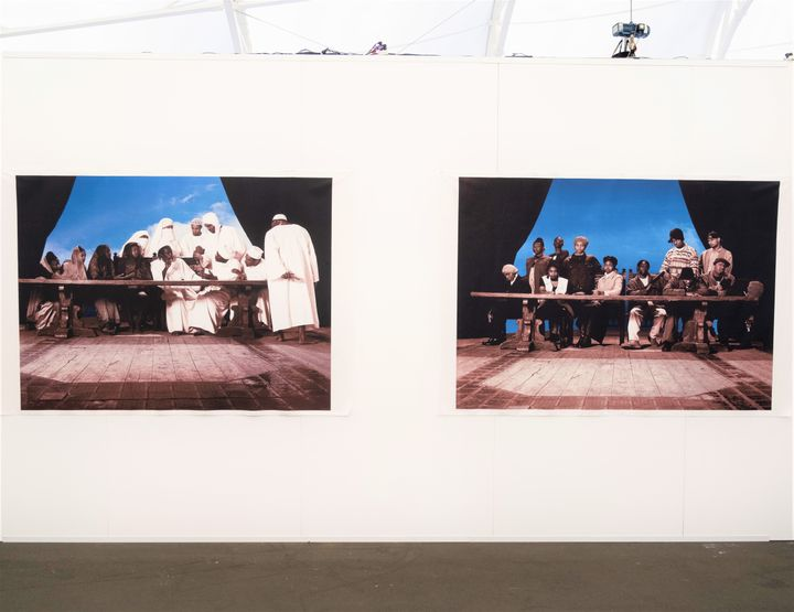 Faisal Abdu'Allah, Last Supper (1994/2019). Exhibition view: Auckland Art Fair, The Cloud, Auckland (2–5 May 2019). Courtesy Auckland Art Fair.