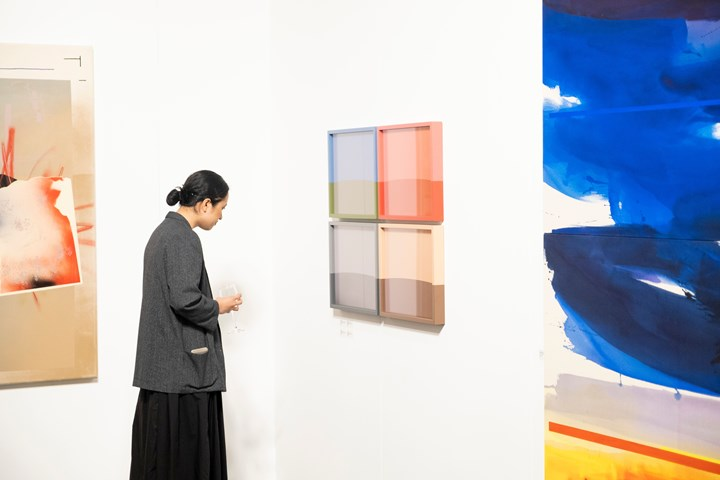 Exhibition view: Two Rooms, Auckland Art Fair, The Cloud, Auckland (2–5 May 2019). Courtesy Auckland Art Fair.