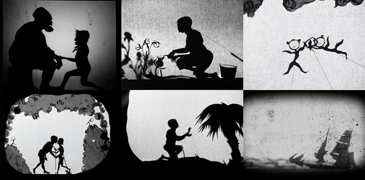 Kara Walker, 8 Possible Beginnings or: The Creation of African-America, a Moving Picture by Kara E. Walker (2005). Video, black and white, audio. 15 min 57 sec. © Kara Walker. Courtesy Sprüth Magers and Sikkema Jenkins & Co.