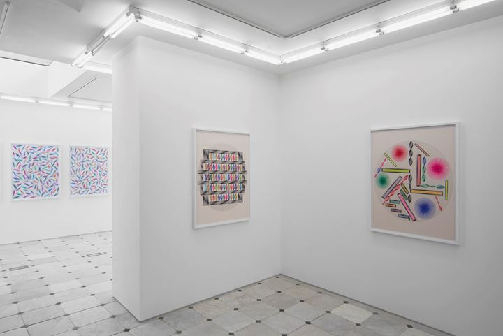 Exhibition view: Sanou Oumar, Herald St, London (29 September–1 December 2019. Courtesy the artist and Herald St, London. Photo: Andy Keate.