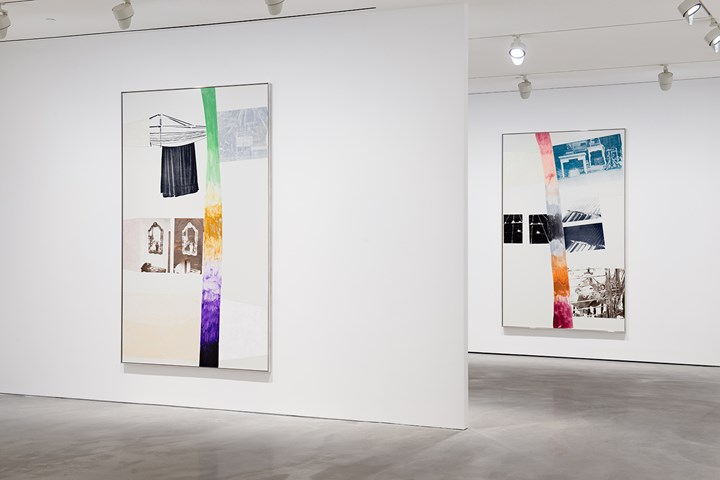 Exhibition view: Robert Rauschenberg, Vydocks, Pace Gallery, Hong Kong (19 September–2 November 2018). © Robert Rauschenberg Foundation / VAGA at Artists Rights Society, New York. Courtesy Pace Gallery. Photo: Cow Lau.