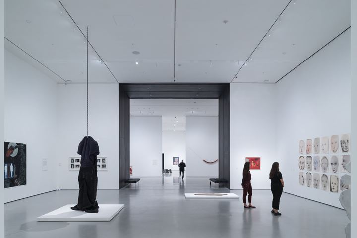Exhibition view: David Geffen Wing, Gallery 206, The Museum of Modern Art, New York. The Museum of Modern Art renovation and expansion, designed by Diller Scofidio + Renfro, in collaboration with Gensler.  Courtesy Museum of Modern Art. Photo: Iwan Baan.