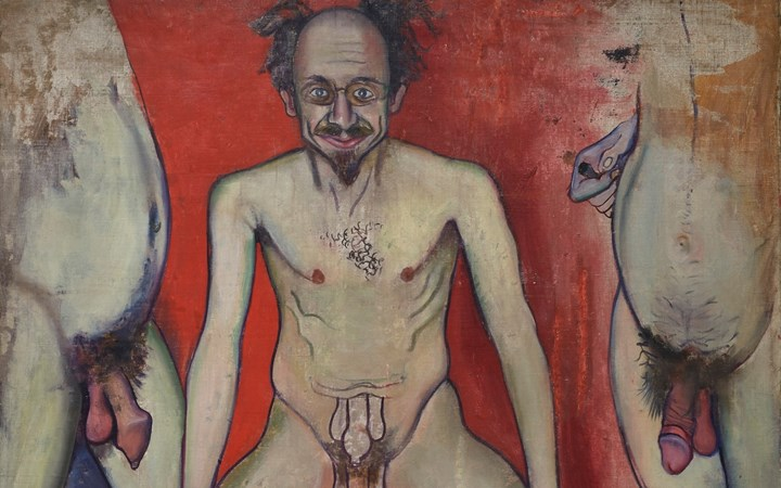 Alice Neel, Joe Gould (1933) (detail). © The Estate of Alice Neel. Courtesy The Estate of Alice Neel and David Zwirner.