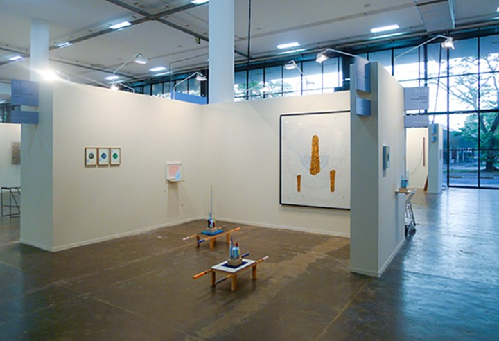 Exhibition view: Pier Stockholm at Galerie Lisa Kandlhofer in the Solo sector at SP-Arte 2017.