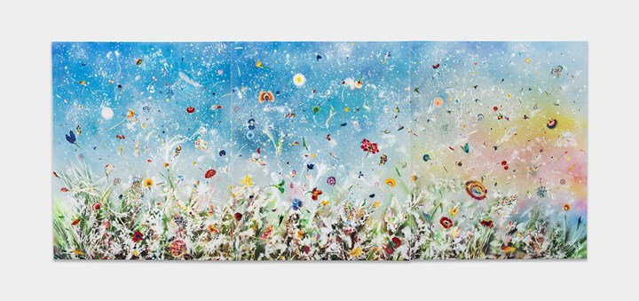 Thierry Feuz, Silent Winds (2016). 570 x 230 cm. Courtesy the artist and Bluerider Art.