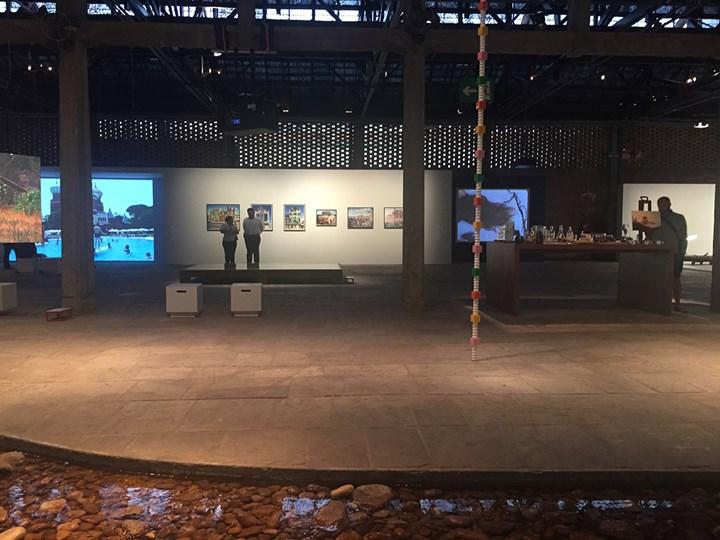 Exhibition view: 20th Contemporary Art Festival Sesc_Videobrasil, Sesc Pompéia, São Paulo (3 October 2017–14 January 2018). Photo: Camila Belchior.