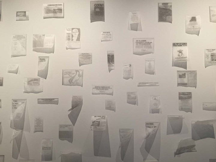 Rafael Pagatini, Bem-vindo presidente! (Welcome President!) (2016). Exhibition view: 20th Contemporary Art Festival Sesc_Videobrasil, Sesc Pompéia, São Paulo (3 October 2017–14 January 2018). Photo: Camila Belchior.
