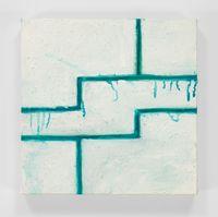 Geometric Break by Mary Heilmann contemporary artwork painting