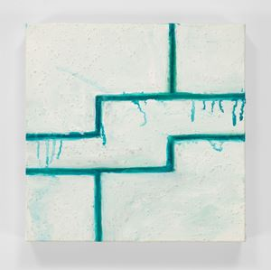 Geometric Break by Mary Heilmann contemporary artwork