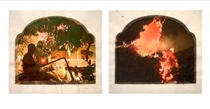 Plantation (Diptych No. 10) by Tracey Moffatt contemporary artwork