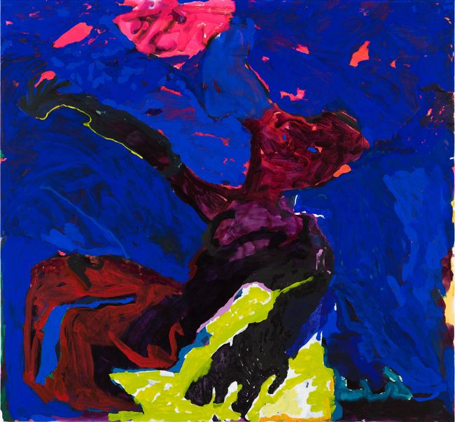 fear of falling by Tom Polo contemporary artwork