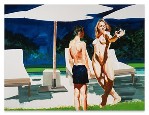 The Artist's Assistant by Eric Fischl contemporary artwork
