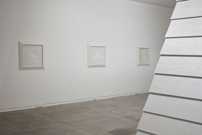 Exhibition view: Brett Graham, Monument, Two Rooms (13 July–11 August 2018). Courtesy Two Rooms.