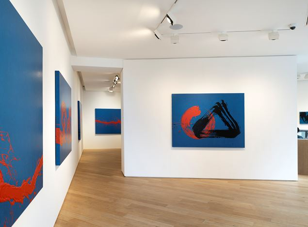 Exhibition view: Fabienne Verdier, Autour d'un timbre, Galerie Lelong & Co., 38 Avenue Matignon, Paris (21 November 2019–18 January 2020). Courtesy Galerie Lelong & Co. Paris.