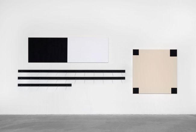 Hibiki by John M Armleder contemporary artwork