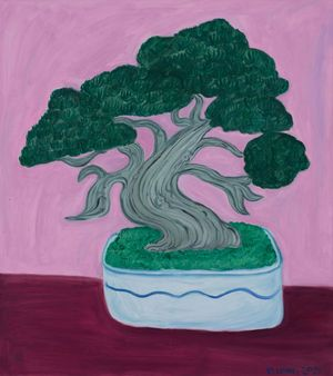 Evergreen by Julia Long contemporary artwork painting